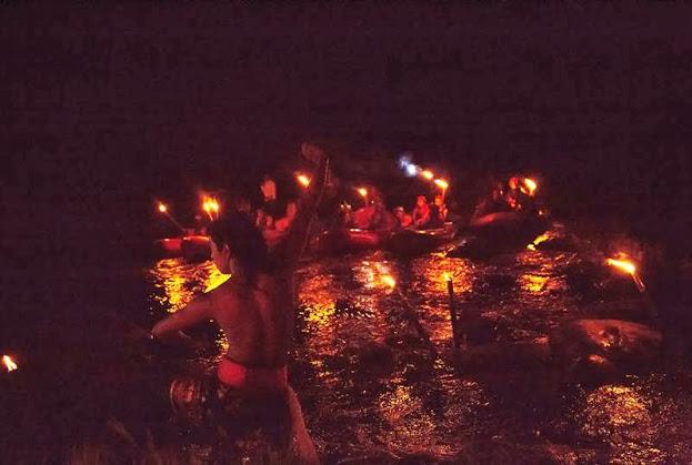 Bali Night Rafting Dance